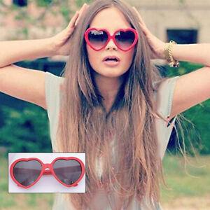 Fashion Love Heart Shape Women Sunglasses Protect Eyes Practical Unisex Eyewear