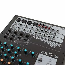 LD Systems VIBZ 10 C 10-Kanal Mischpult mit Kompressor