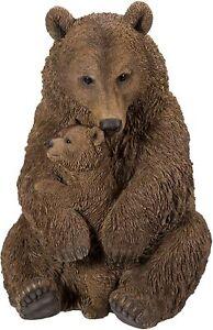 Vivid Arts Real Life Mother/Baby Brown Bear - Size A
