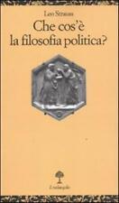 Che cos'è la filosofia politica? - Strauss Leo