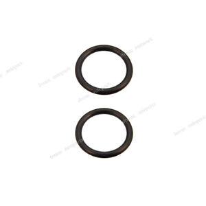 2x Water Pump Hose Rubber O-Ring 91314-634-000 For Honda Accord Civic Hybrid CRX