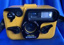 Sea & Sea Motormarine 35 Underwater Camera With Flash Tested Ok