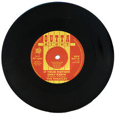 """MIRACLES  """"IF YOUR MOTHER ONLY KNEW""""   KILLER EARLY MOTOWN / R&B  LISTEN!"""