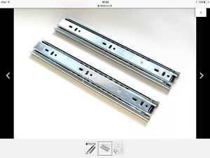 BOX OF TEN PAIRS, 700mm drawer slides.