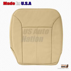 Mercedes Benz GL550 Driver Side Bottom Leather Seat Cover Tan For 2007 2008 2009