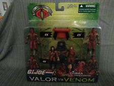 Gi joe hasbro cobra imperial procession, valor vs venom