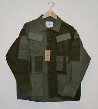WTAPS Modular Shirt. Cotton. Ripstop Mix 17 FW