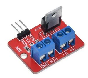 PWM LED Modul 0-24V Mosfet IRF520N Transistor Motor Control For Arduino MCU ARM