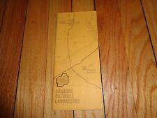 Booklet on Argonne National Laboratory Lemont Illinois Chicago Area