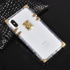 Famous Clear Crystal Soft Rubber Case Cover For iPhone X XS Max XR 6 7 8 11 +