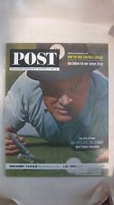 The Saturday Evening Post Magazine November 9th 1963 Bob Hopes Best Golf Stories
