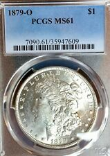 1879-O MS61 Sharp Details/Breast Feathers Mirror-like Surfaces PCGS