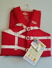 STEARNS ADULT UNIVERSAL BOATING VEST 30-52 in CHEST RED