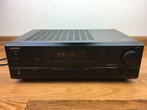 Onkyo TX-8011 2-Channel Stereo Receiver TESTED 100% Works Great No Remote