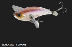 Jackall Mega Pompadour WAKASAGI SCHOOL Color 4.7 inch 57g Crawler Bait From JP