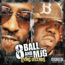 """NEW SEALED CD """"8Ball and MJG"""" Living Legends  (G)"""