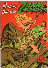 fumetto PANTERA BIONDA ANNO 1954 COLLANA JUNGLA AVVENTUROSA NUMERO 12 EDICOLA