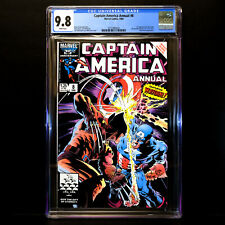 Captain America Annual #8 🔥 1st appearance Overrider w/ Wolverine 🔥 CGC 9.8 WP