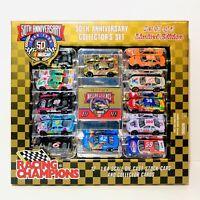 1998 NASCAR 50TH ANNIVERSARY COLLECTORS Set #1 Of 4 - 12 1:64 Die Cast Cars NIB