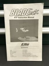 Owners Manual For R/C Eflite Blade MCX RTF Helicopter Instruction Manual