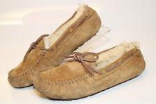 UGG Australia Uggs Womens 6 37 Dakota Sheepskin Moccasins Slippers Shoes 5612