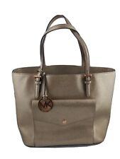 Authentic Michael Kors  MK Rose Gold Shiny Handbag Purse Bag (Retail $298.00)