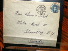 #7297,Seldom Seen,#94A on Cover,Switzerland to NY,1906