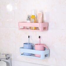 Bathroom Storage Basket Sundries Holder Shelf Rack Organizer with Suck Surprise