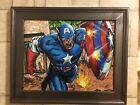 Capitan America Painting On Canvas Art Decor