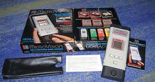 Handheld Spiel Computer Spiel System Micro Vision OVP Anleitung usw.70 er Jahre