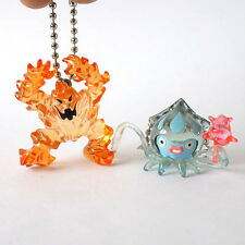 Square Enix SQEX Toy Dragon Quest Crystal Monster 3 Flame Keychain Set of 2 Pcs.