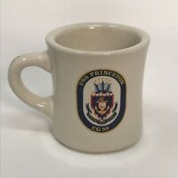 VINTAGE USS PRINCETON CG 59 COFFEE CUP MUG MIL-ART CHINA CO. Restaurant ware