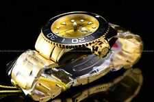 Invicta Men's 50mm Grand Diver Automatic Gold Plated Gold/Yellow Dial 300M Watch