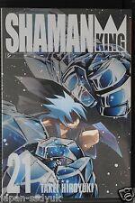 JAPAN Hiroyuki Takei manga: Shaman King Kanzenban vol.21