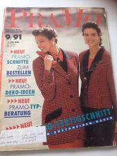 Pramo 9/91 90er Vintage 90s Pattern Sewing Dress Minikleid Fertigschnitt Hose