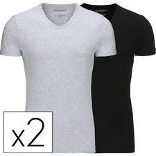 ARMANI Halbarm Herren-T-Shirts aus Baumwolle
