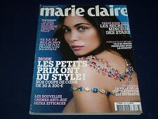 2008 APRIL MARIE CLAIRE FRANCE MAGAZINE - EMMANUELLE BEART COVER - O 1021