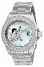 New Womens Invicta 24491 Character Collection Steel Bracelet Watch