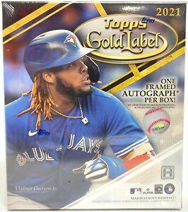 2021 Topps GOLD LABEL Baseball HOBBY Box MLB Factory Sealed - FREE PRIORITY SHIP