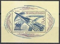 Czechoslovakia 1964 MNH Mi Block 21 Sc 1264 Voskhod I,3-man space flight  **