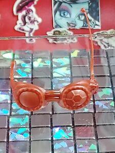K) 1. Monster High Doll,  Accessories, Robecca Steam, Goggles,Glasses