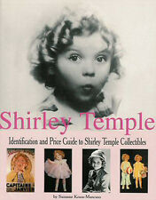 Shirley Temple Collectibles ID & PRICE GUIDE BOOK Dolls Movie Posters Photos ++