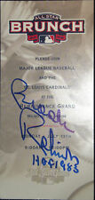 Brooks Robinson Auto w/ HOF inscription 2009 All-Star Brunch Ticket St Louis COA