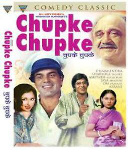 CHUPKE - AMITABH - DHARMENDRA - NEW BOLLYWOOD DVD