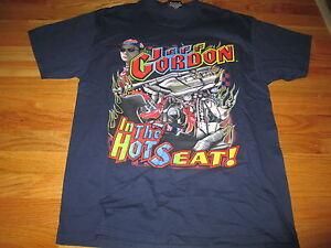"JEFF GORDON No. 24 NASCAR ""THE HOT SEAT"" (MEDIUM) T-Shirt"