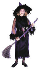 Morris Costumes Girl's Feather Witch Black Sheath Dress Costume M. FW8762BKMD