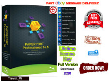 🔥Nuance PaperPort Professional 14.5 ☑ Lifetime license Key ☑5-Pc☑Full Version🔥
