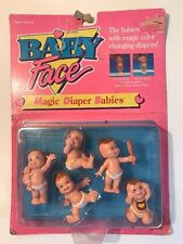 1991 Baby Face Magic Diaper Babies Galoob Doll NOS Vintage
