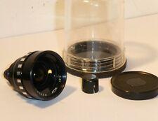 RUSSIAN QUARTZ 0.5X WIDE Cine Lens for SOVIET QUARTZ CINE CAMERA + KEEPER & CAPS