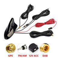 DAB/GPS/FM/AM Car Roof Top Shark Fin Antenna Digital Radio Car Amplified Aerial